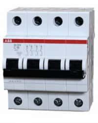 Breaker ABB Trifásico 16A SH204-C16