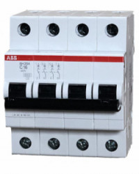 Breaker ABB Trifásico 63A SH204-C63
