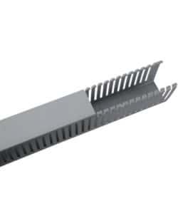 Canaleta Cableado Gris 40x40