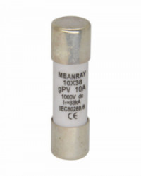 Fusible 30A 1000VDC 10x38 Meanray
