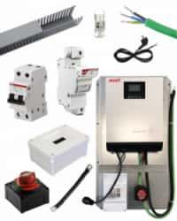 Kit Material Eléctrico 3000W 60A MPPT