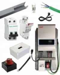 Kit Material Eléctrico 5000W 60A PWM