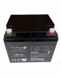 Batería AGM 12V 40Ah Tb Plus