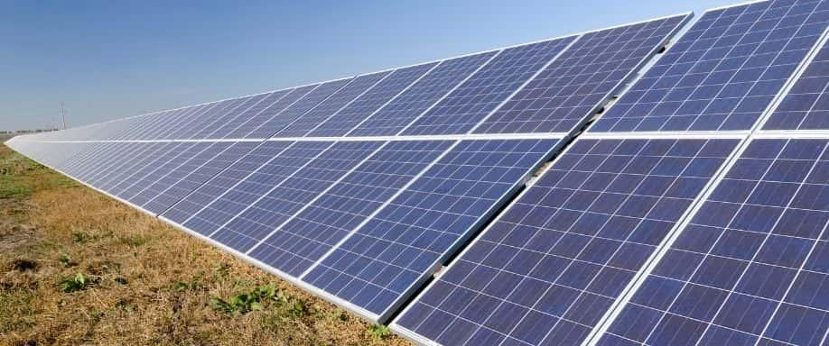 Sombras en paneles solares