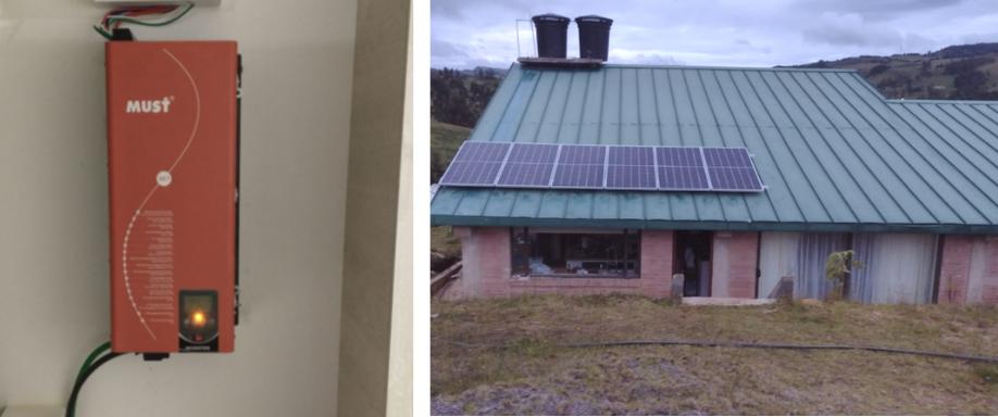 Instalación aislada en Chocontá con Must Solar y Tensite