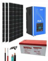 Kit Solar 1000W 12V 3000Whdía