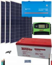 Kit Solar 1200W 12V 3000Whdía