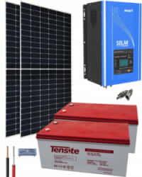 Kit Solar 3000W 24V 3400Whdía