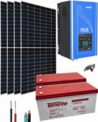 Kit Solar 3000W 24V 6800Whdía