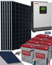 Kit Solar 3000W 48V 12000Whdía UZS