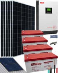 Kit Solar 3000W 48V 12000Whdía