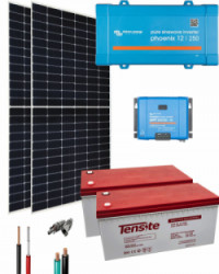 Kit Solar 375W 24V 3400Whdía