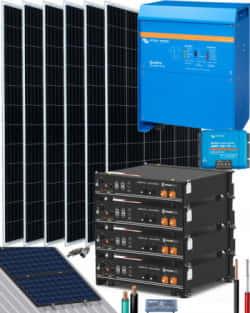 Kit Solar 5000W 24V 12000Whdía Victron