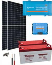 Kit Solar 500W 24V 4000Whdía