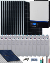 Kit Solar 6500W 48V 24000Whdía Gel