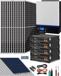 Kit Solar 6500W 48V 24000Whdía