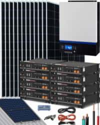 Kit Solar 6500W 48V 30000Whdía