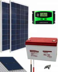 Kit Solar Acceso 12V 1000Whdía