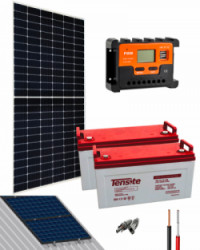 Kit Solar Acceso 12V 2000Whdía