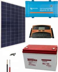 Kit Solar AGM 250W 12V 1000Whdía