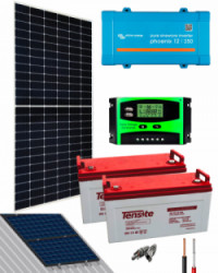 Kit Solar Basico 12V 1000Whdía