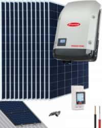 Kit Solar OnGrid 12500W 62500Whdía Fronius