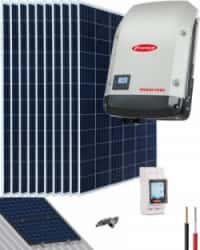 Kit Solar OnGrid 5000W 25000Whdía Fronius