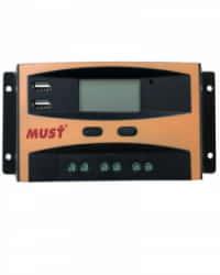 Controlador Carga 10A PWM 12V-24V Must Solar