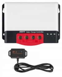 Controlador Carga MPPT 100A 50A con Bluetooth 12/24V