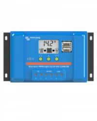 Controlador Carga PWM LCD USB 12/24V 10A Victron Energy
