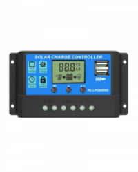 Controlador Carga Solar 30A PWM 12/24V AllPowers